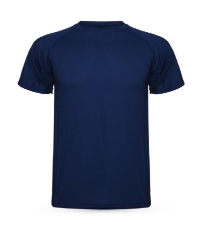 camisola tecnica azul escura